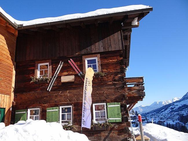 kleinwalsertal bonanza skiehuette piste 2