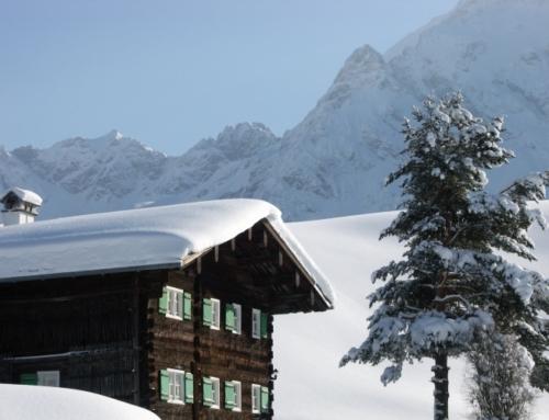 Kleinwalsertal – Skihütte Gruppenunterkunft